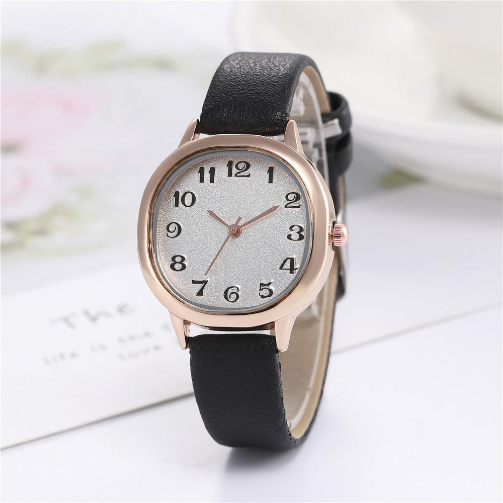 Luxury Brand Leather Quartz Women's Watch Ladies Fashion Watch Women Wristwatch Clock Relogio Femini