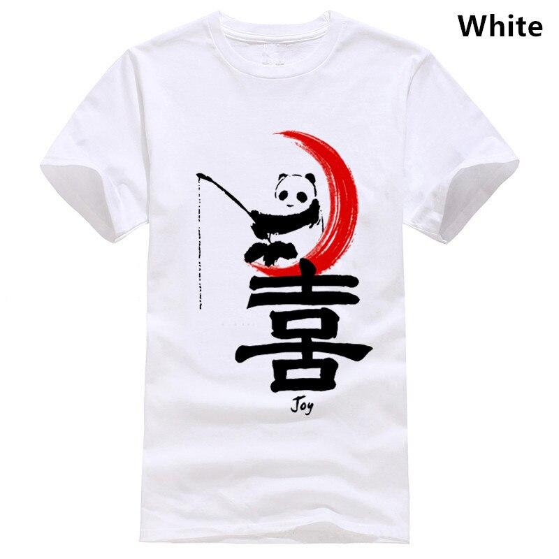 Camiseta China japonesa RETRO PANDA Guerrero samurái artes marciales KUNG FU
