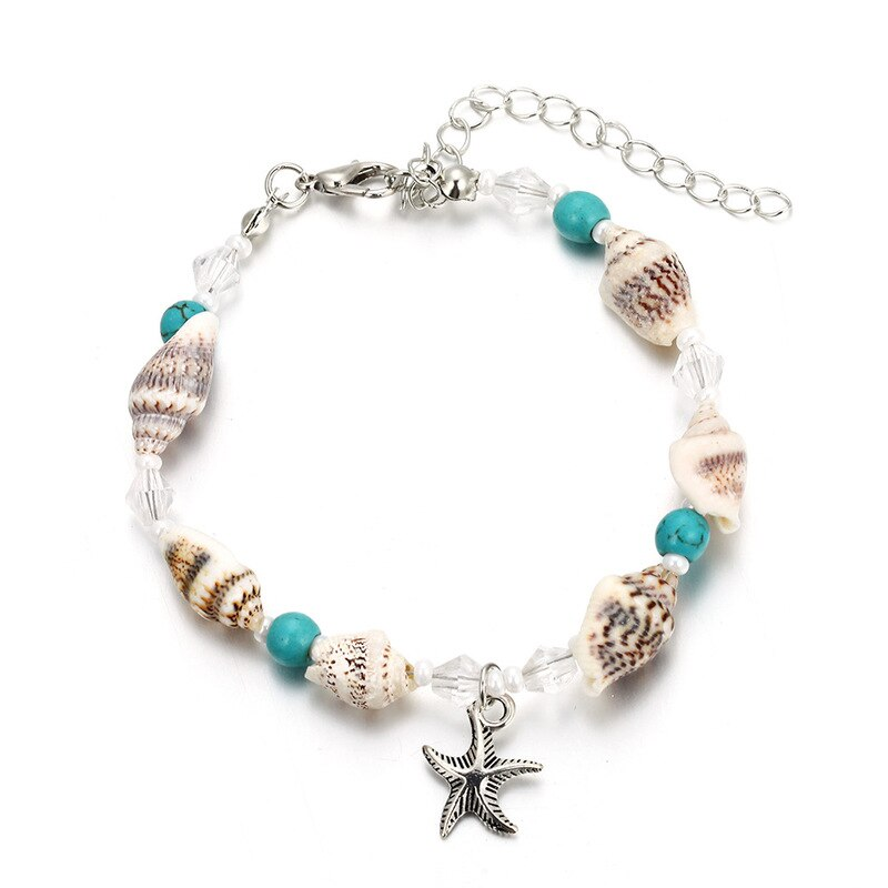 Shell Bracelet Coquillage Seashell Conchabracelets Bangles Bracelets 2020 Women Trendy Hot Sale Trendy