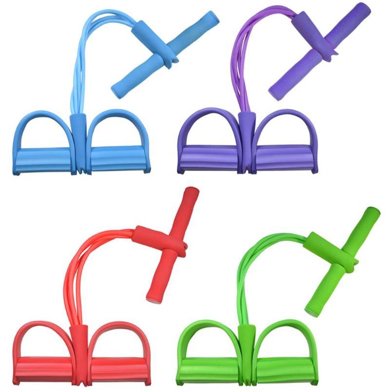Multi Funktion Spannung Seil Starke Fitness Widerstand Bands Latex Pedal Frauen Männer Sitzen Pull Seile Yoga Fitness Ausrüstung