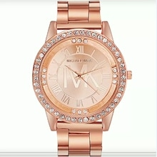 Women Watch New TVK Brand Luxury Rhinestone Quartz Women Watches Fashion Stainless Steel Women's Wri