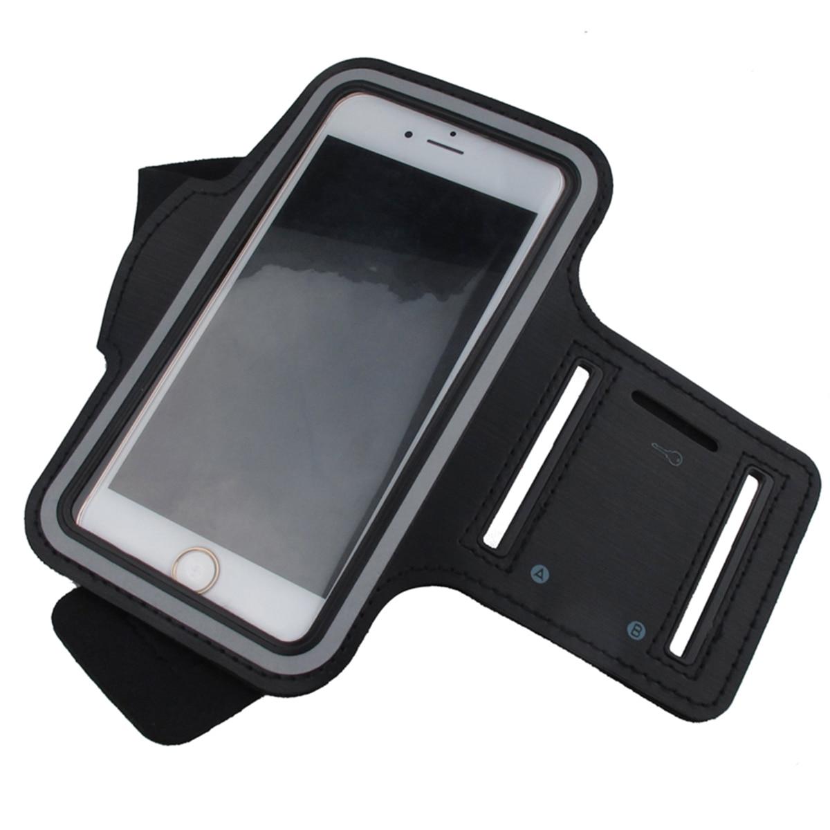 Brazo deportivo resistente al agua con teléfono móvil para iphone xiaomi huawei 5 pulgadas o menos equipado con bolsa de cinturón deportivo