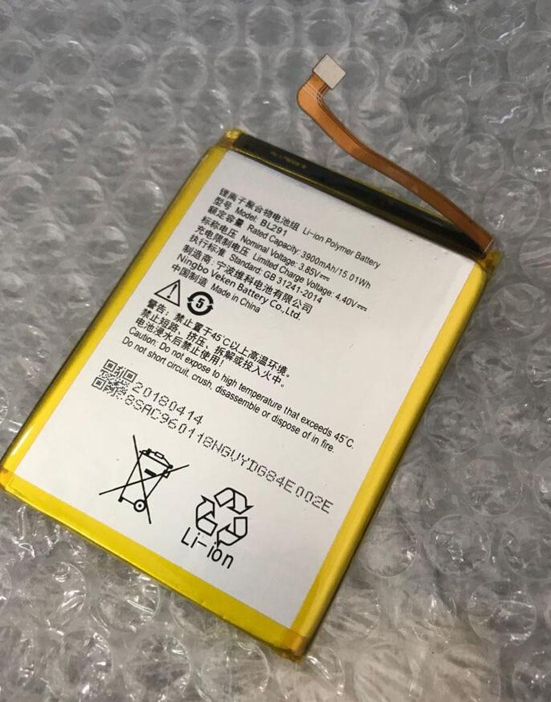 Batería de repuesto 3,85 V 3900 mAh/WH BL291 para Lenovo A5 L18011 smartphone Li-ion bateria li-polímero incorporado batterie