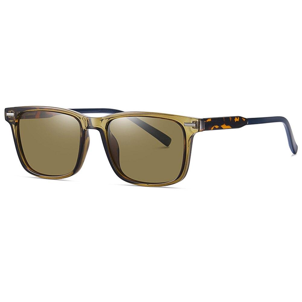 2021 جديد كلاسيكي الاستقطاب النظارات الشمسية الرجال النساء العلامة التجارية مصمم القيادة مربع إطار نظارات شمسية الذكور حملق UV400 Gafas دي سول