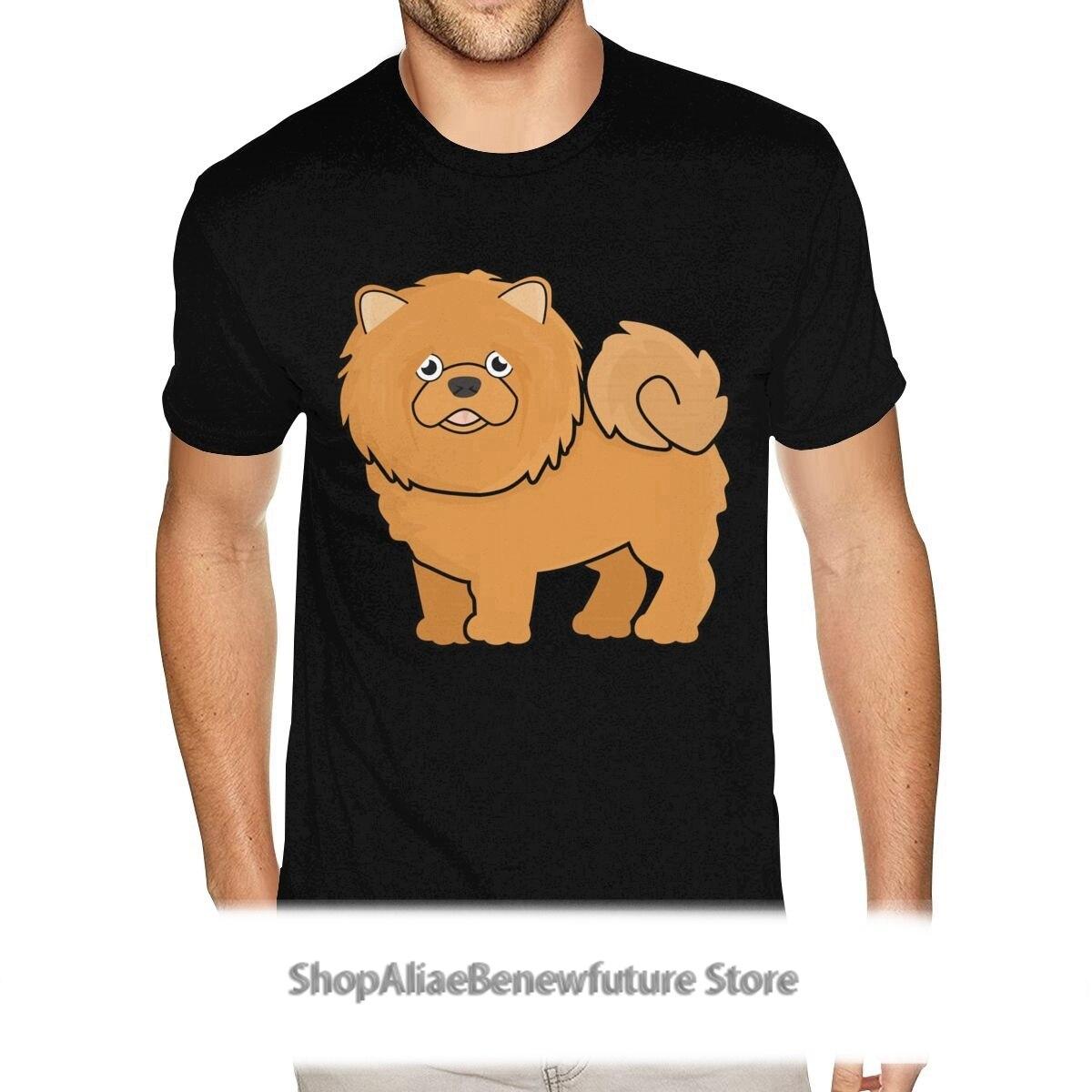 El mejor y mono Chow camisa para hombre impreso de manga corta...