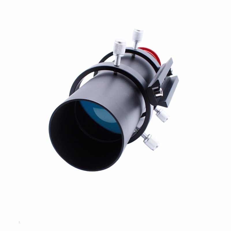 50mm 60mm alcance de la guía del finderscopio completamente cubierto guidescopio Ocular buscador para telescopio astronómico Binocular Monocular