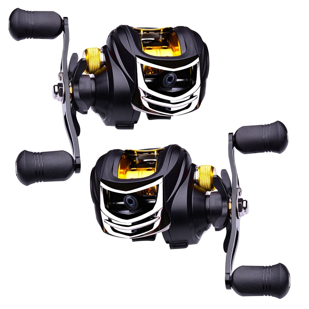 Fishing Reel 7.2:1 Baitcasting Wheel Line Spool Long Casting Reels Freshwater Fishing Tackle Compression Resistance Outdoor enlarge
