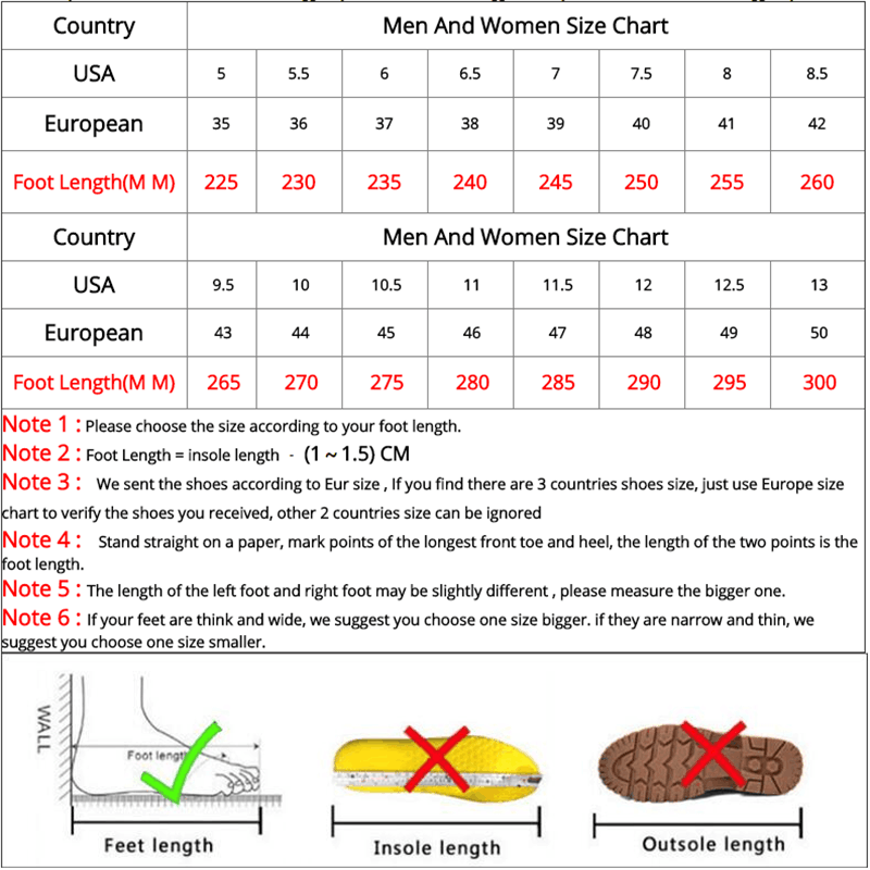 Fashion couple shoes large size sports shoes men's running shoes wear-resistant shock absorption casual shoes outdoor thick sole