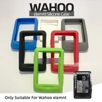 wahoo elemnt protective case silicone protective cover elemnt compatible with gps bicycle computer protection screen film