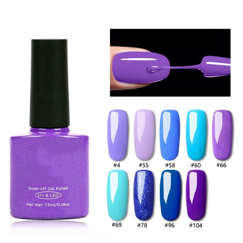 Gel dedo uñas esmalte de uñas arte de uñas belleza suministros ornamentos UV seco larga duración MPwell