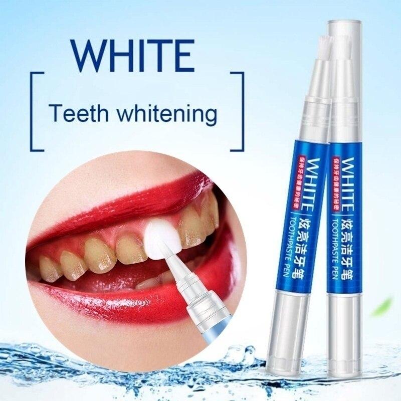 Волшебная гелевая ручка для отбеливания зубов Уход за полостью рта удаление пятен для чистки зубов отбеливатель инструменты идеальная улыбка виниры отбеливание зубов ручка