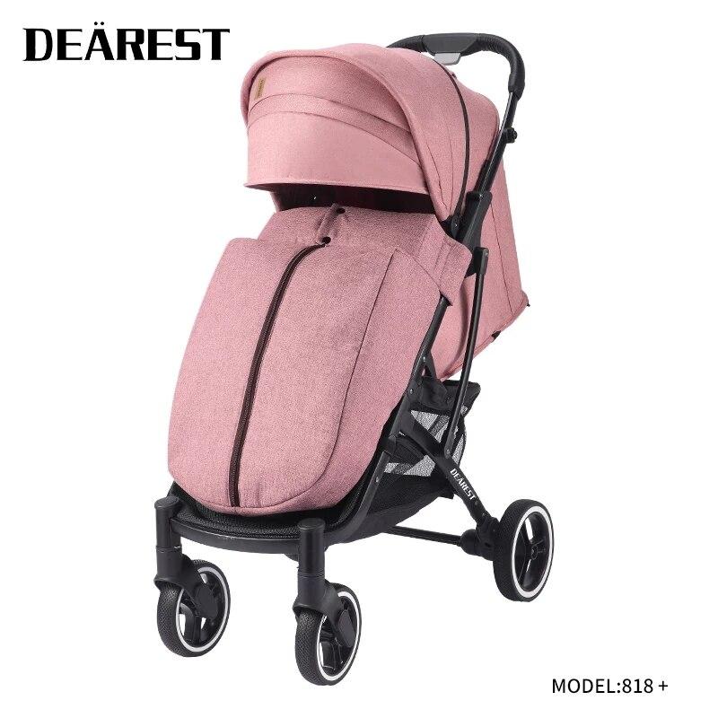 DEAREST stroller for twins folding portable trolley baby stroller ultra light Multiple baby stroller Free Shipping