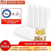 Xiaomi 4A Router Gigabit edition 2,4 GHz + 5GHz WiFi DDR3 High Gain 4 Antenne APP Control Mi router 4A WiFi Wiederholen Xiaomi Router