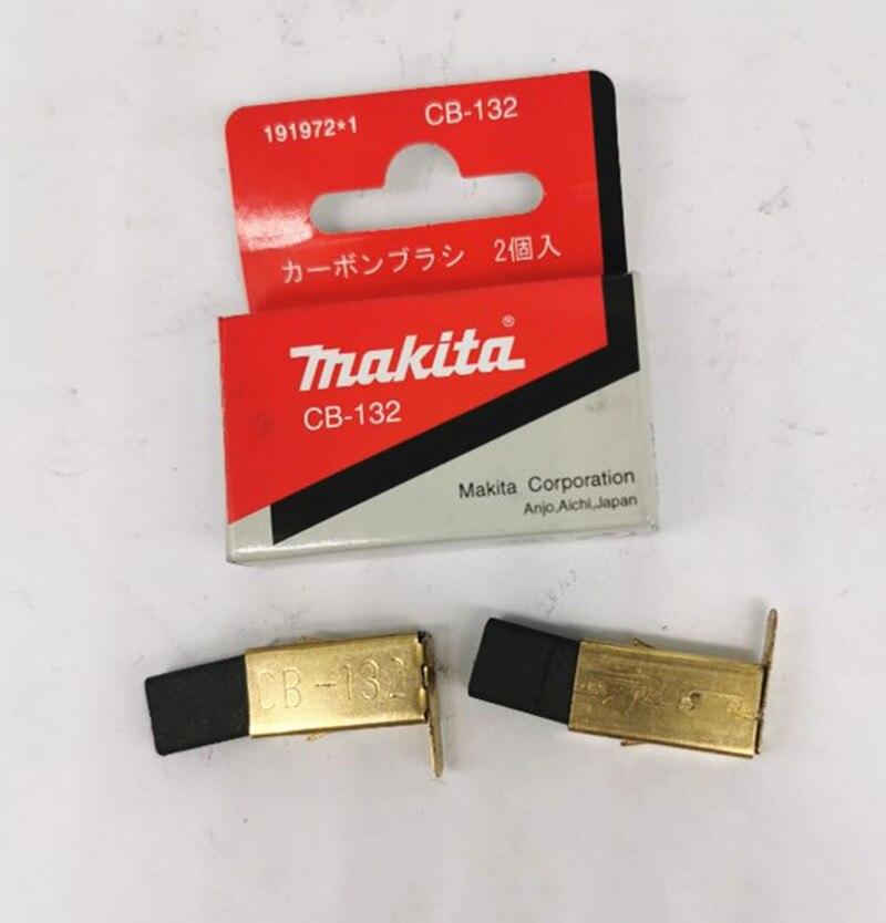 Escova De Carbono Makita 191972-1 para CB-132 UC4041A UC3041A UC3541A KP0810 UC3020A UC3520A UC4020A