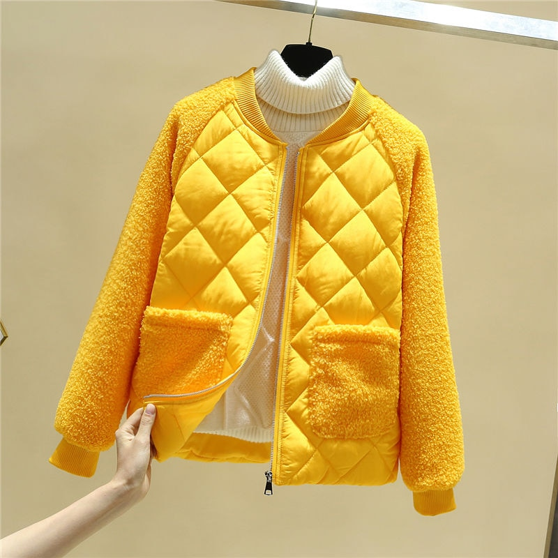 куртка женская пальто женское куртка зимняя женская куртка женская осень Женская демисезонная куртка, парка из меха ягненка, короткие женс...