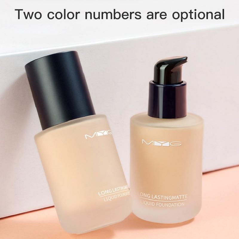 Liquid Foundation Waterproof Oil Control Concealer Natural Long-lasting Moisturizing Isolation Primer Base Cream Cosmetics TSLM2 недорого