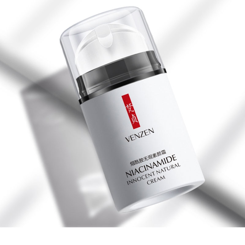 Face Nicotinamide Cream Moisturizing Shrinking Pores Brighten Skin Color Concealer Isolation Cream Face Skin Care hot sale 99% nicotinamide mononucleotide nmn powder 1pc festival nutrition supplement skin body face gloss nicotinamide riboside
