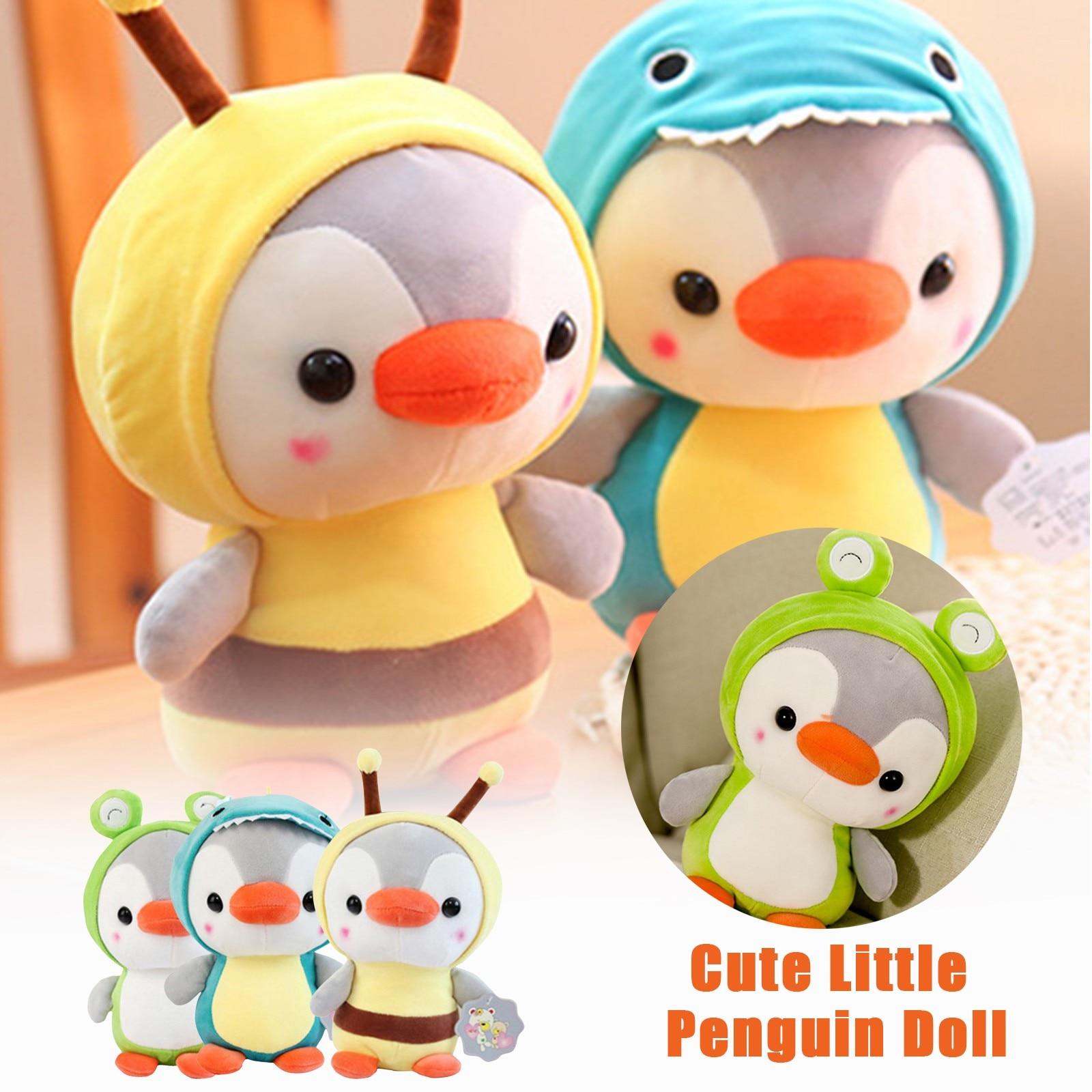 Cute cartoon penguin doll plush toy For Kids Cute Soft Plush Stuffed Doll Toys super soft penguin pillow Children birthday gifts недорого