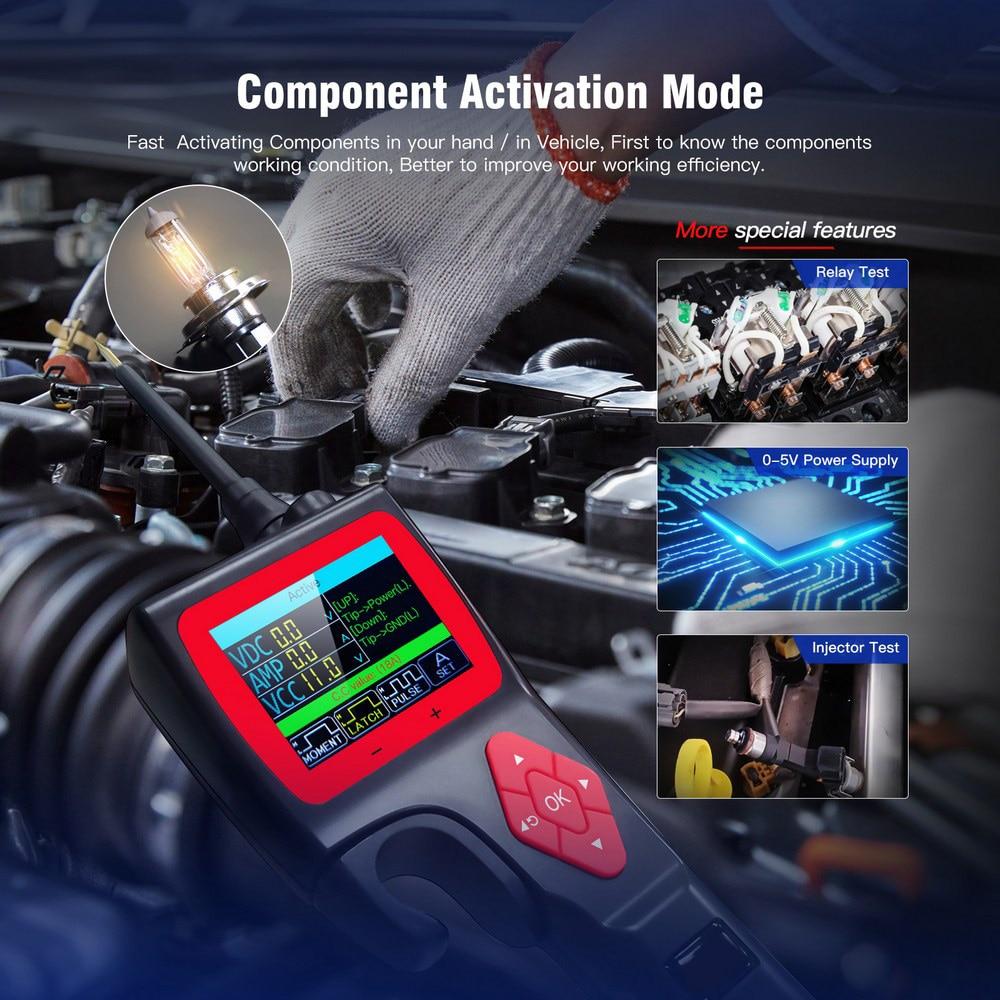 Умный Анализатор автомобильной схемы P200, тестер системы диагностики неисправностей, 9-30 в, быстрое тестирование автомобильного мультиметра