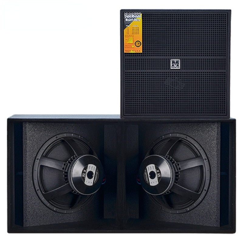 Single Double 18-Inch Extra Bass Professional Stage Performance KTV Ultra-Low Frequency Line Array Audio