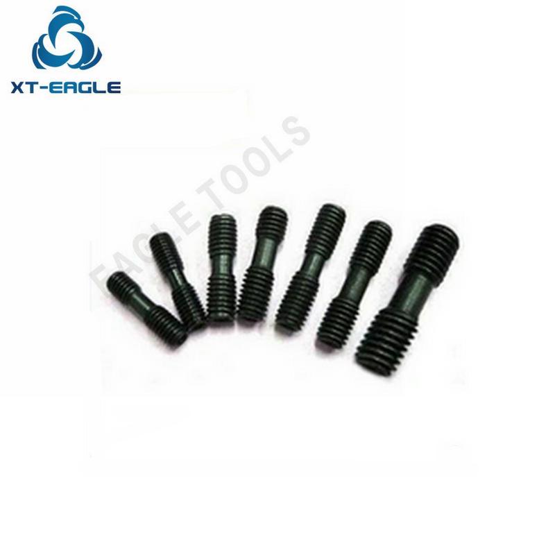 Parafuso de cabeça dupla m8x16 m8x20 m8x21 m8x25 MCS825-4 dente fino hexagonal p1.0 frete grátis!