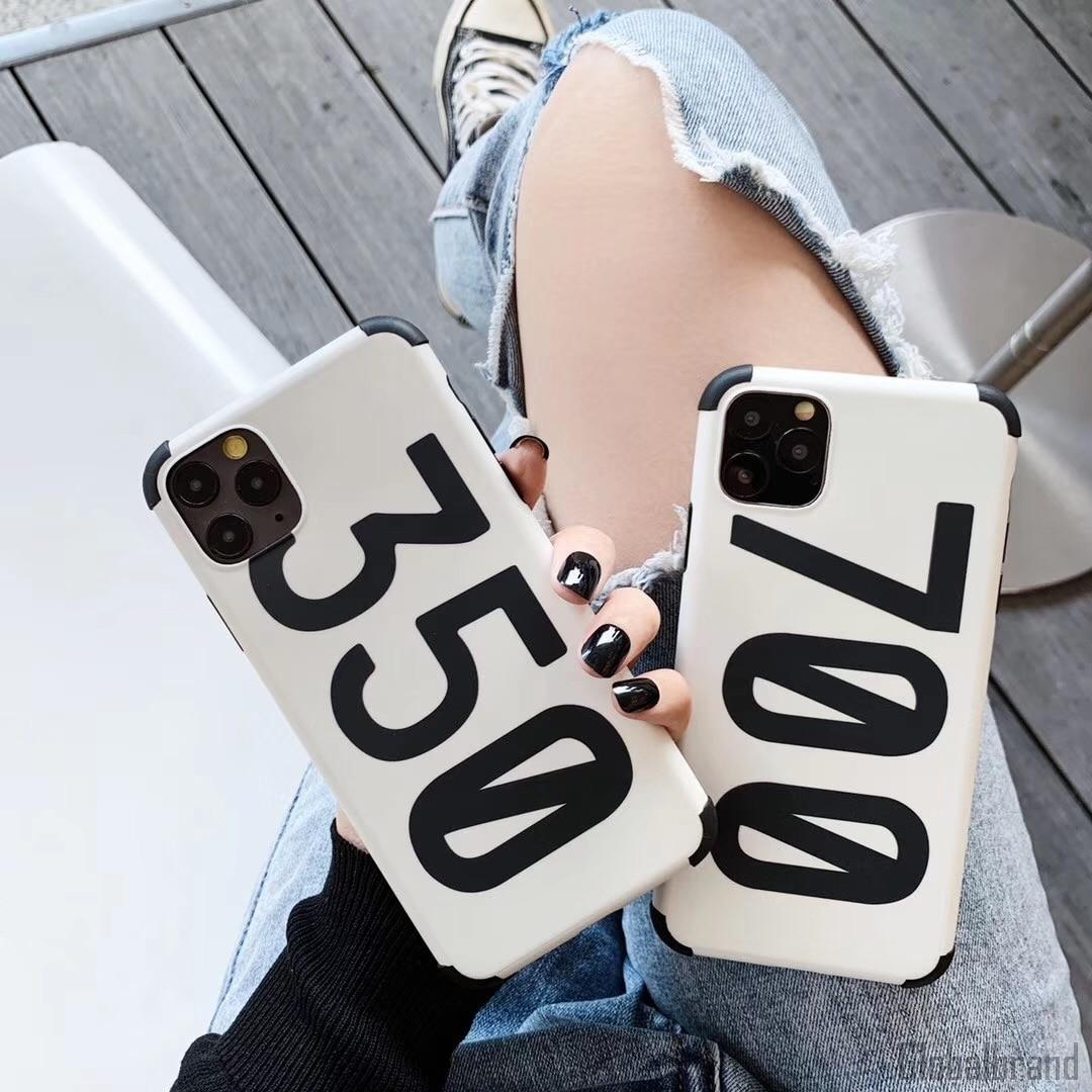Роскошные кроссовки Kanye Omari West BOOST 350 V2 чехол для Apple iPhone 7 8 Plus 11 Pro X XS Max XR жесткий чехол для телефона Fundas
