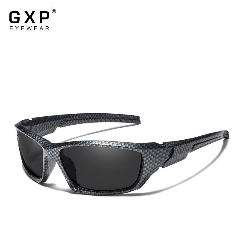 Очки солнцезащитные GXP Мужские поляризационные, роскошные брендовые дизайнерские винтажные солнечные очки для вождения, темные очки UV400