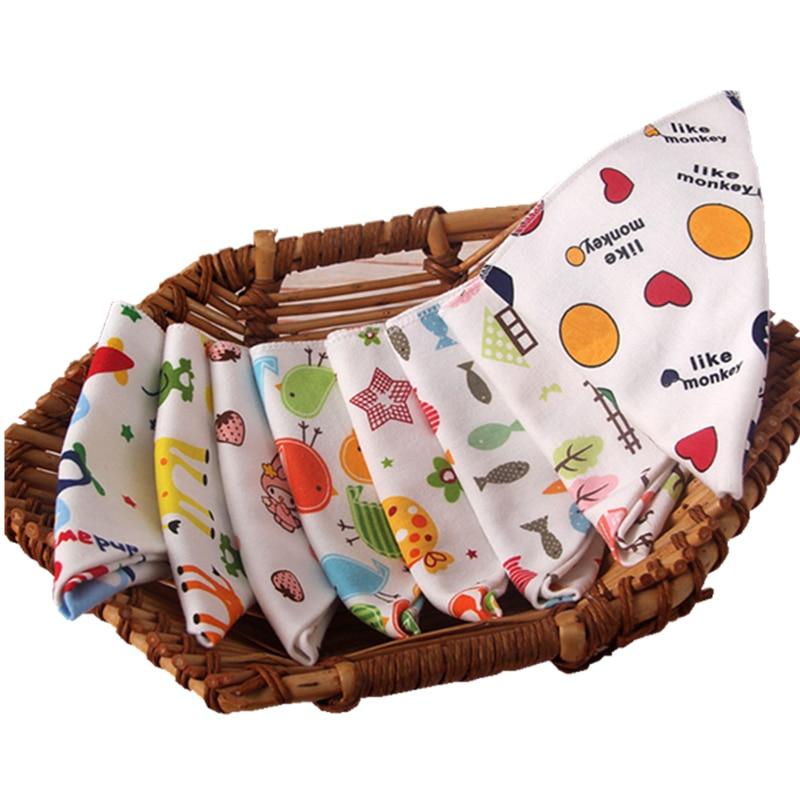 Baby Lätzchen Dreieck Baumwolle Cartoon Kinder Kinder Baberos Bandana Lätzchen Babador Dribbeln Lätzchen Neugeborenen Slabber Saugfähigen Tuch