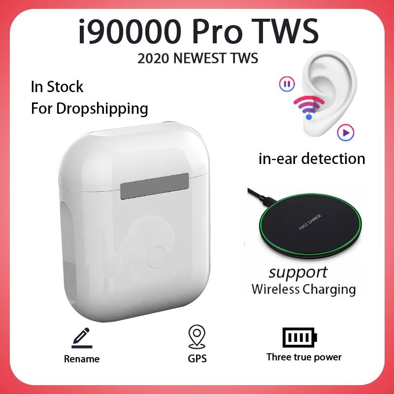 Original I90000 Pro TWS Blutooth Earphone Mini Wireless Headset Headphones Elari PK I500 I1000 I9000