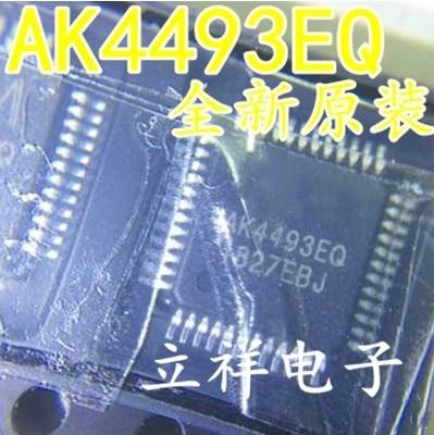 100% original 10PCS AK4493EQ AK4493 QFP 10pcs lot stm32f100c4t6b qfp 48