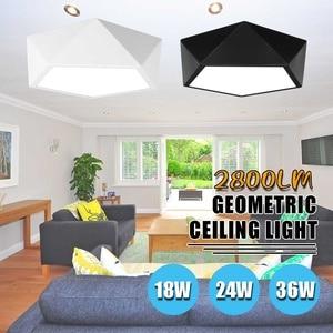 Smuxi Creative Geometric LED Ceiling Light Lampshade Lamp For Living room Bedroom Kids room mount indoor Lights Ceiling Lights