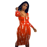 casaul women print dress backless bandage hollow out bodycon high streetwear party night clubwear dresses for women ouftit