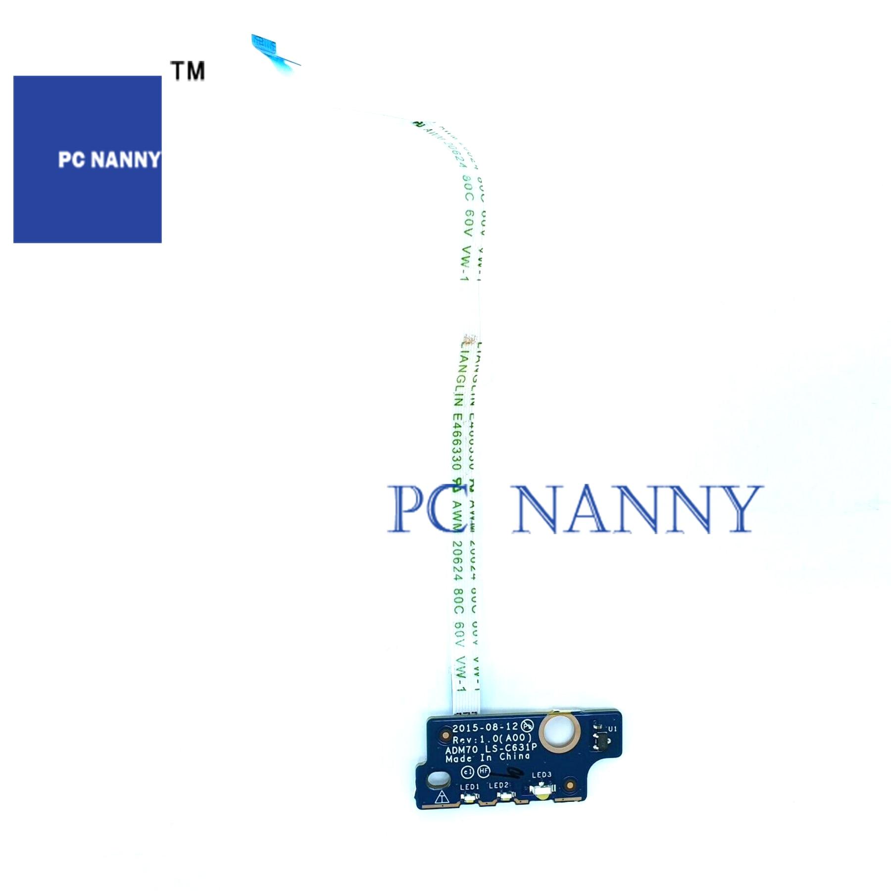 PCNANNY FOR Dell Latitude E5470 LED Indicator Module Board LS-C631P  Camera 0MYWHV test good