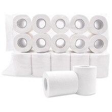 10 rulo kağıt havlu 4 kat Ultra yumuşak rulo kağıt yedek tuvalet kağıdı el havluları ev doku ev kağıt banyo
