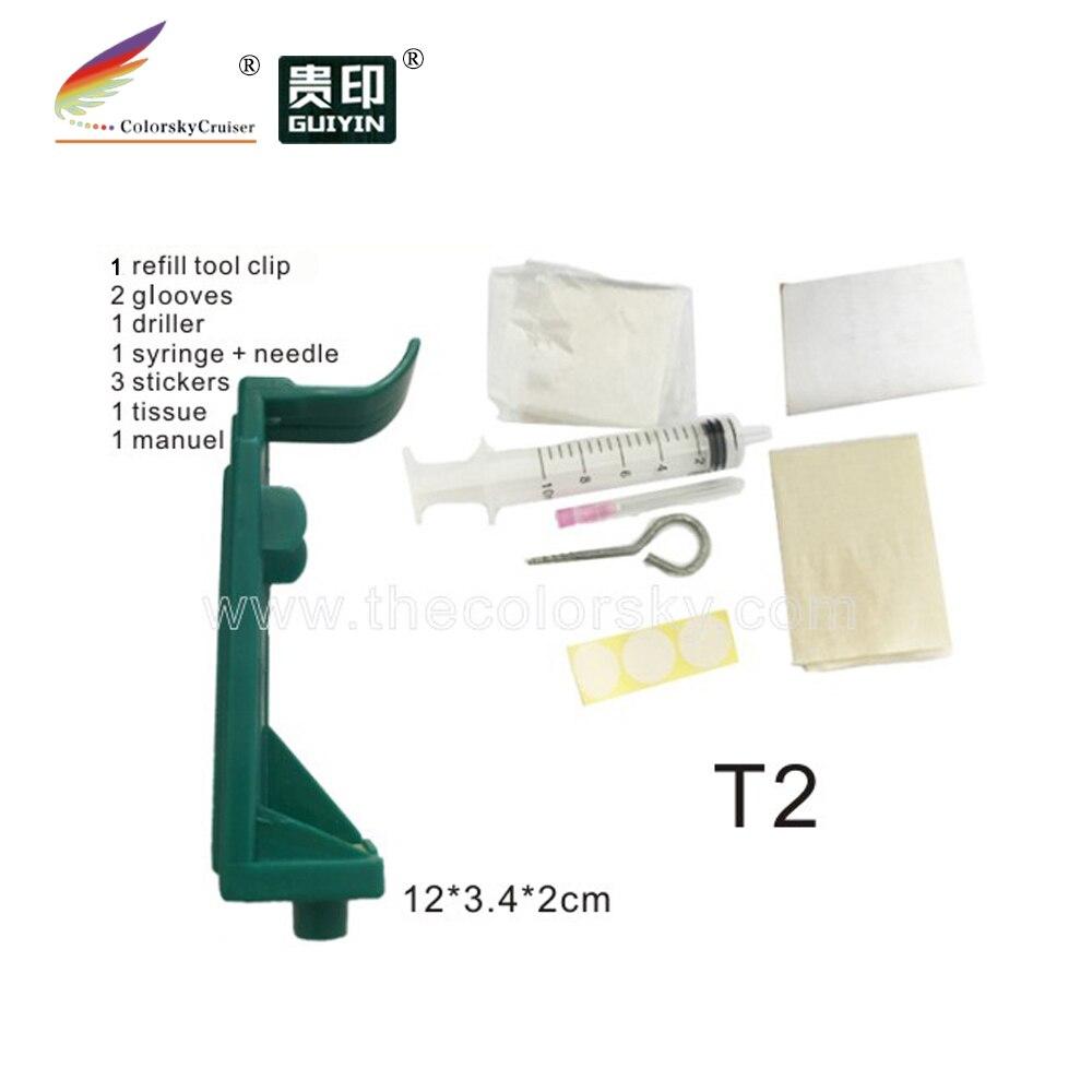 (T2) profesyonel dolum tutucu aracı için HP 51640 51645 6615 240 45 15 HP51645 HP6615 HP51640 HP240 HP45 HP15