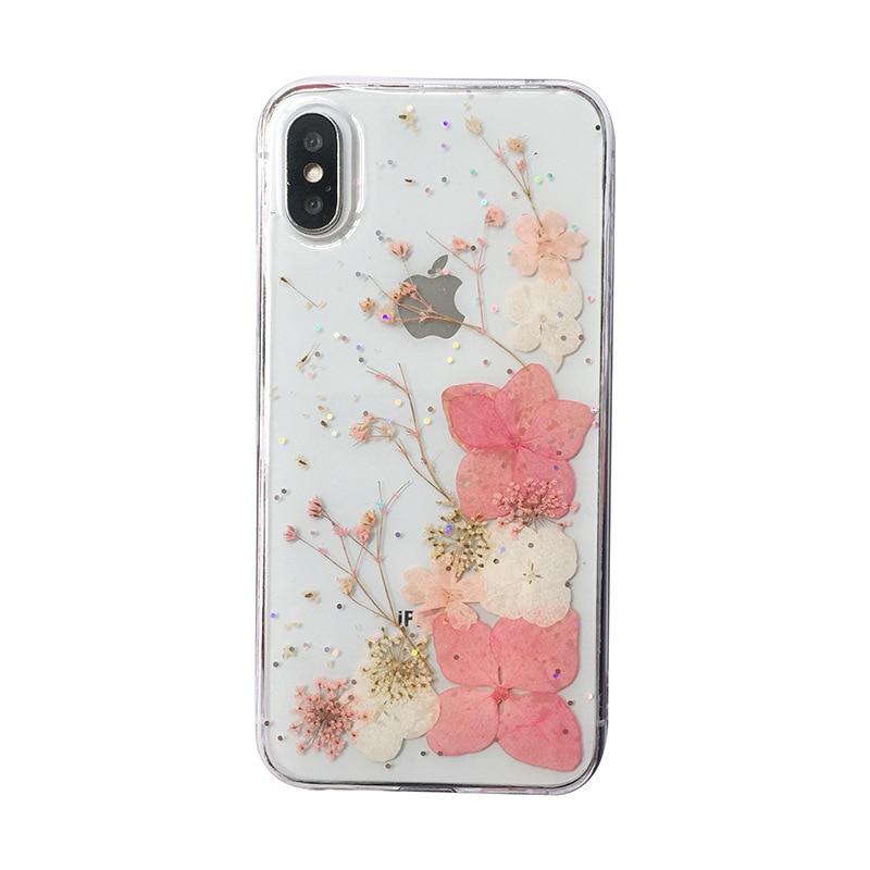 Bionische Bloem Telefoon Geval Dat Geluk Zal Brengen Bloemen Voor Iphone 6 Iphone 7 Case Iphone 7 Plus Gevallen iphone 8 Plus Case