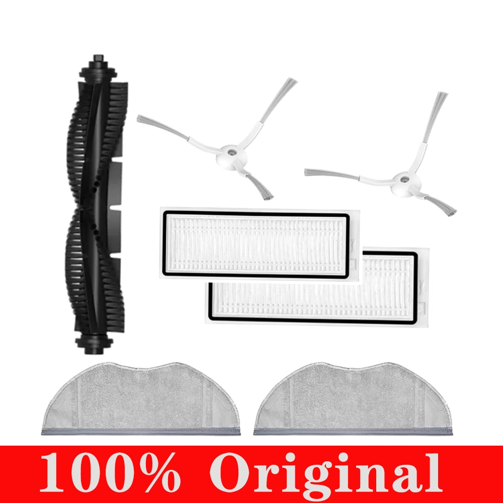 100% Original Hepa Filter Side Brush Main Brush Roller Mop Clothes Rag For 360 S9 X90 X95 Robotic Vacuum Cleaner Accessories