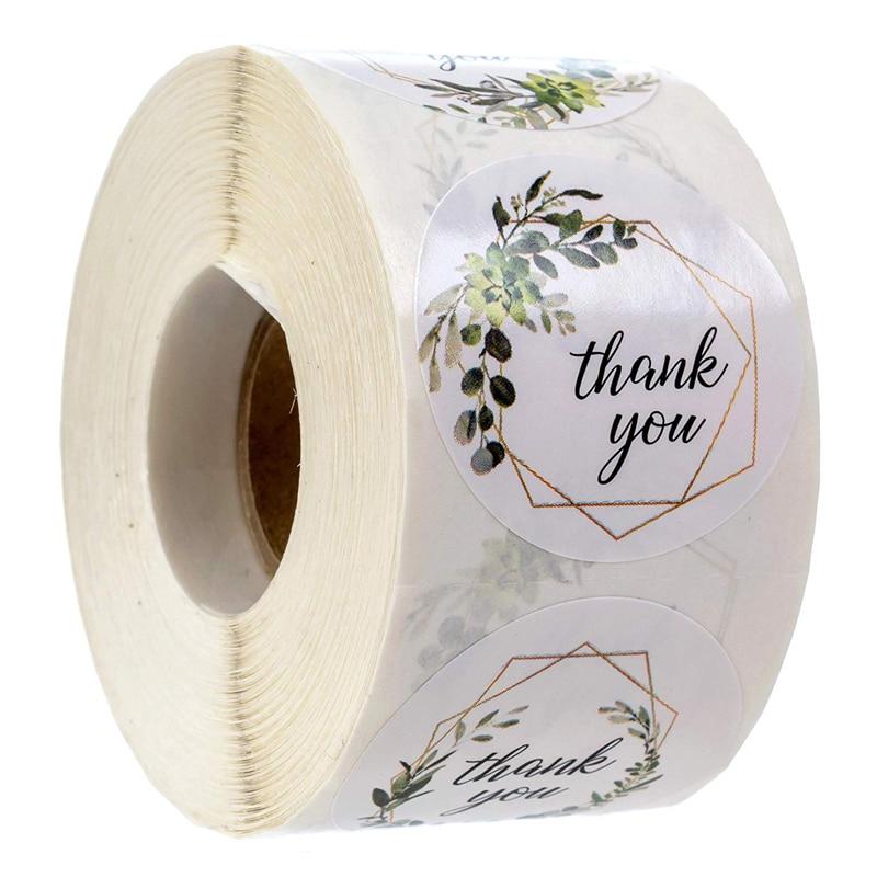 500-pezzi-grazie-adesivo-con-adesivi-scrapbooking-per-piante-floreali-per-sigillatura-buste-e-pacchetto-etichette-di-cancelleria-fatte-a-mano