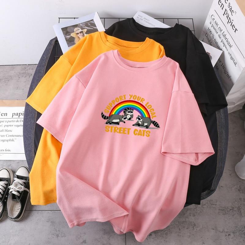 Camisetas de verano de alta calidad para mujer, ropa de moda de...