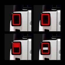 Копченый светодиодный задние фонари для Jeep Wrangler задний фонарь для Jeep Wrangler JK JKU спорт, сахара, свобода Rubicon 2 4 двери 2007 2017