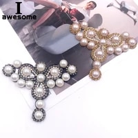 diy beading jewelry bridal wedding party shoes accessories for high heels flats slipper shoes rhinestone shoe decorations flower