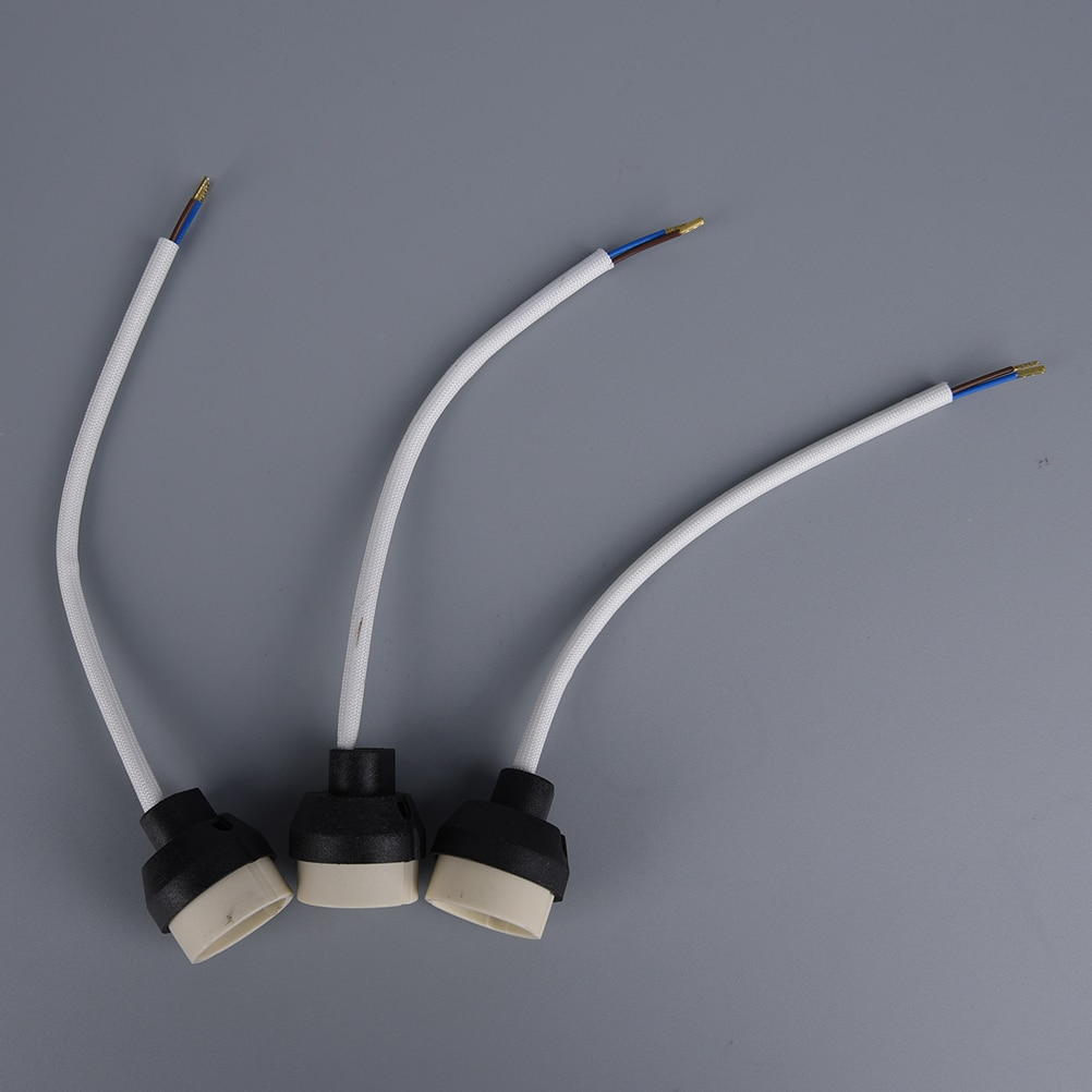 1x gu10 socket base Connector Ceramic Holder Lamp wiring for GU10 Base Halogen Sockets or led bulb