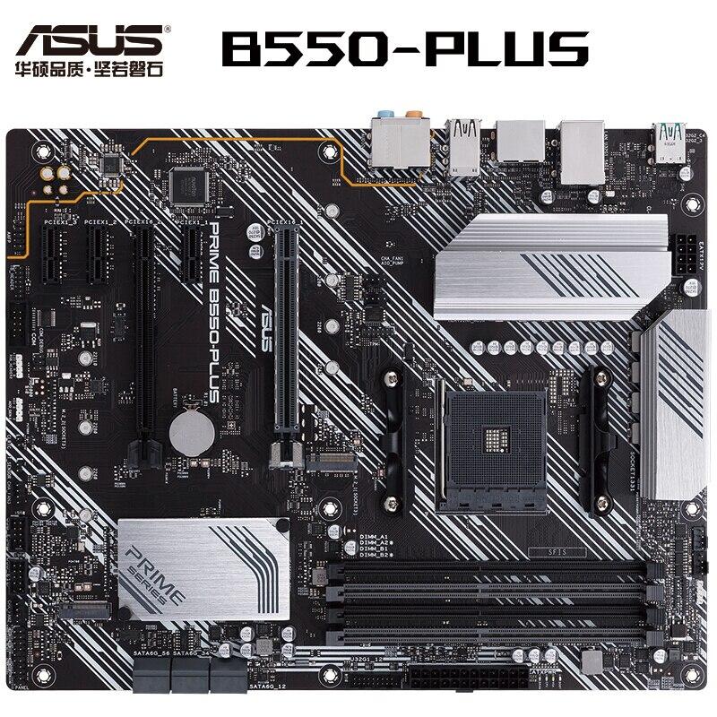 العلامة التجارية الجديدة ASUS رئيس B550-PLUS ATX اللوحة الأم دعم معالج Ryzen 5600X/3700X/5800X (AMD B550/المقبس AM4)