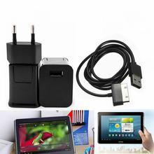 5V 2A EU Plug chargeur mural de voyage + 30pin câble USB pour Samsung Galaxy Tab 2 3 7.0 8.9 10.1 Note 2 tablette P1000