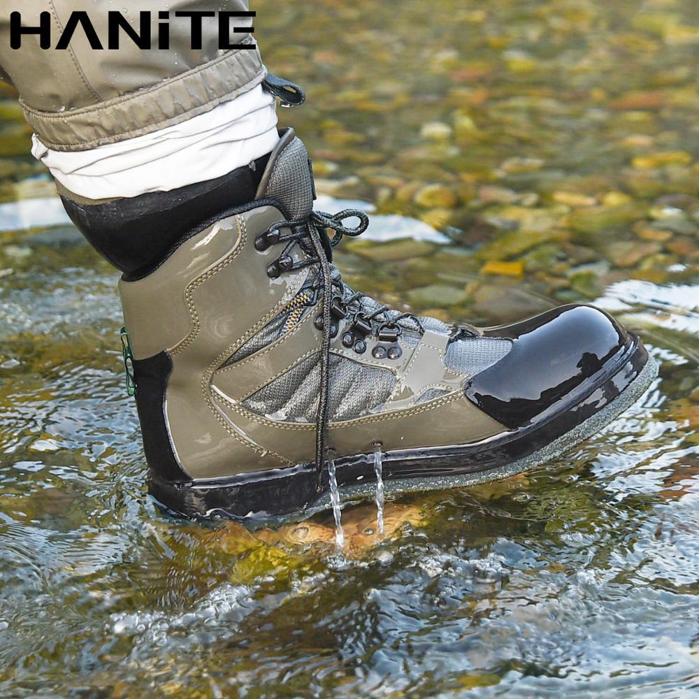 HANITE/Мужские дышащие рыбацкие ботинки; Обувь для охоты; Обувь для рыбалки; Быстро сохнет