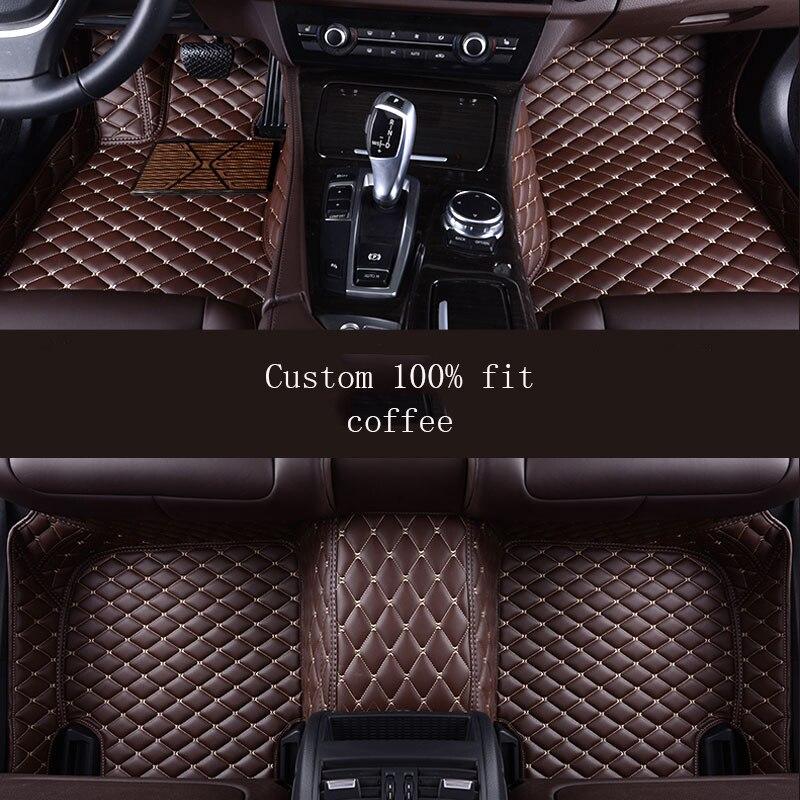 HLFNTF Auto car floor mat For renault fluence laguna 3 kadjar captur scenic 3  logan sandero waterproof car accessories
