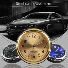 Car Clock Luminous Mini Cars Internal Stick-On Digital Clock Mechanics Quartz Watches Automotive Sty