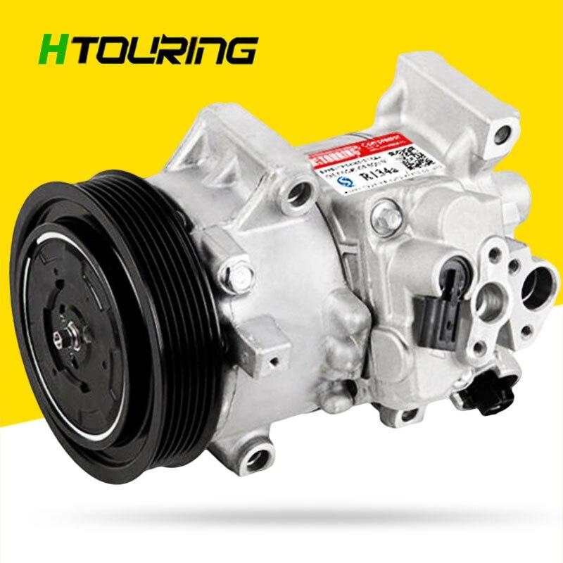 Para coche Toyota Corolla 1.8L 2011-2013 TSE14C compresor de CA 447260-3373 CG447260-3373 447280-9060, 471-1023, 4472603373 de 4711023 6PK