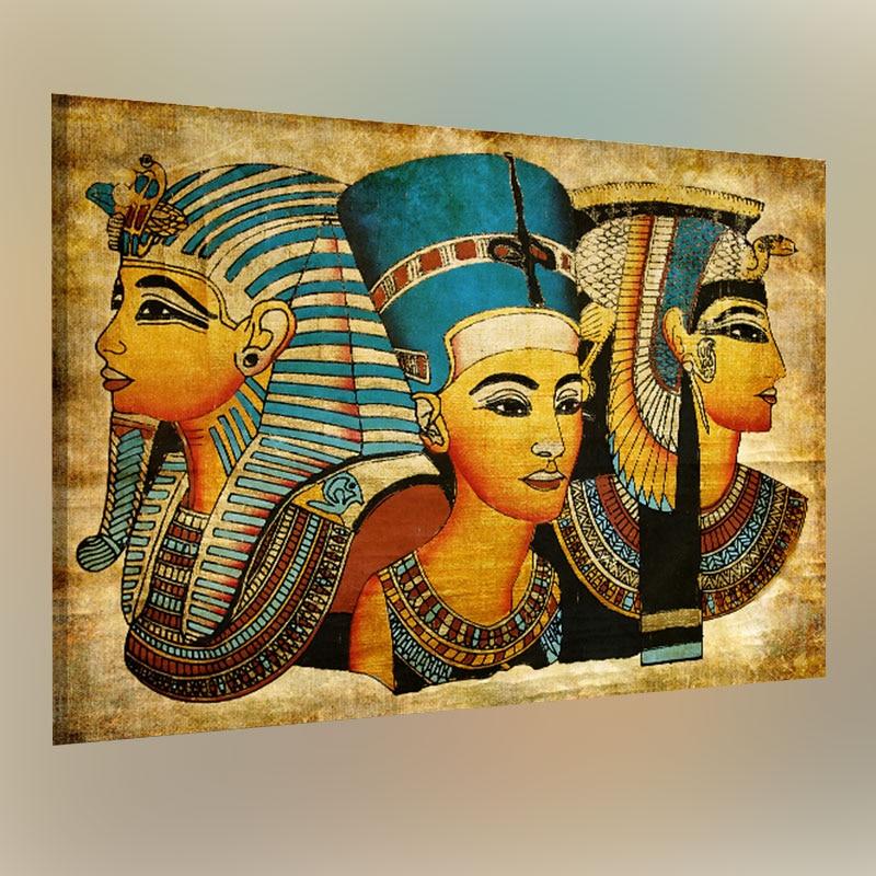 Pintura al óleo de pared-pintura individualidad decoración de pared pintura decorativa al óleo-imagen de Egipto Faraón 40x60cm 40 60cm x 60cm