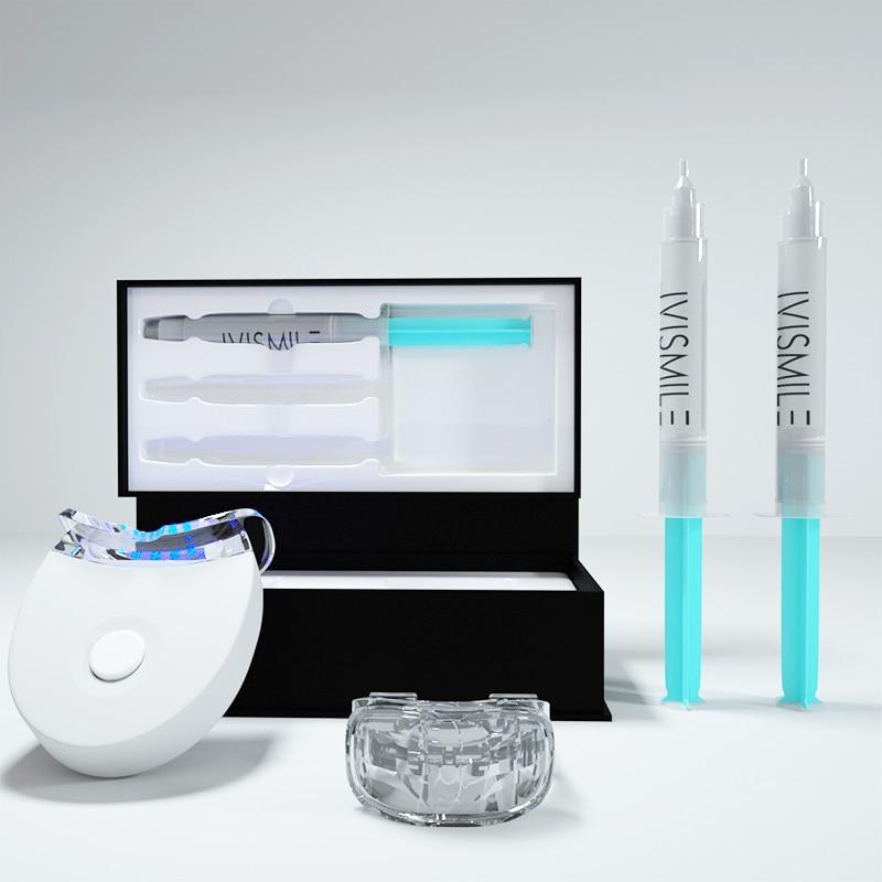 Tanden Whitening Kit 3 Spuiten Van 3Ml Professionele 35% Carbamide Peroxide Whitener Gel Bright White Smile Set Met Mond lade